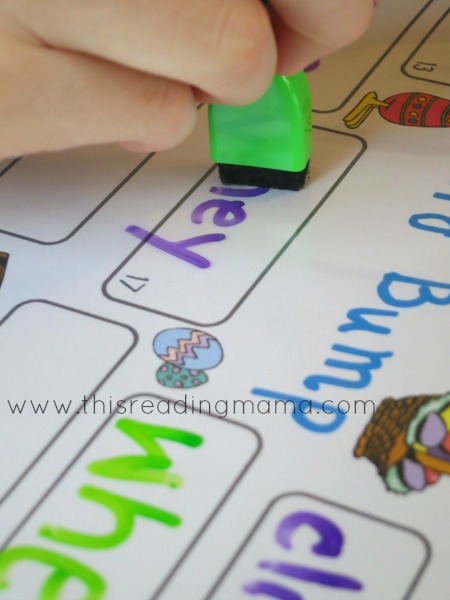 practice spelling words with Word Bump, an interactive spelling game