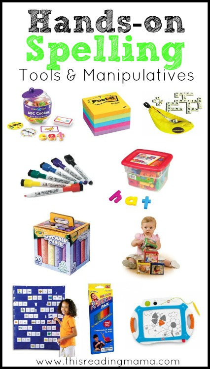 Hands-On Spelling Tools and Manipulatives for Kids | This Reading Mama