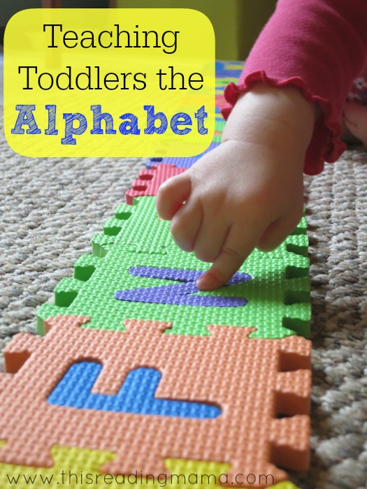 Teaching Toddlers the Alphabet | This Reading Mama