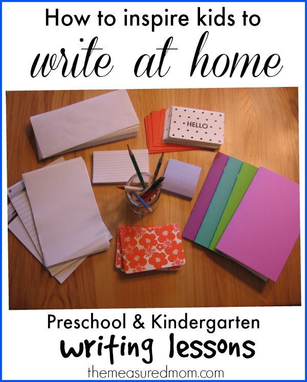 how to inspire kids to write at home (1)