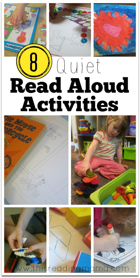 8 Quiet Read Aloud Activities - This Reading Mama