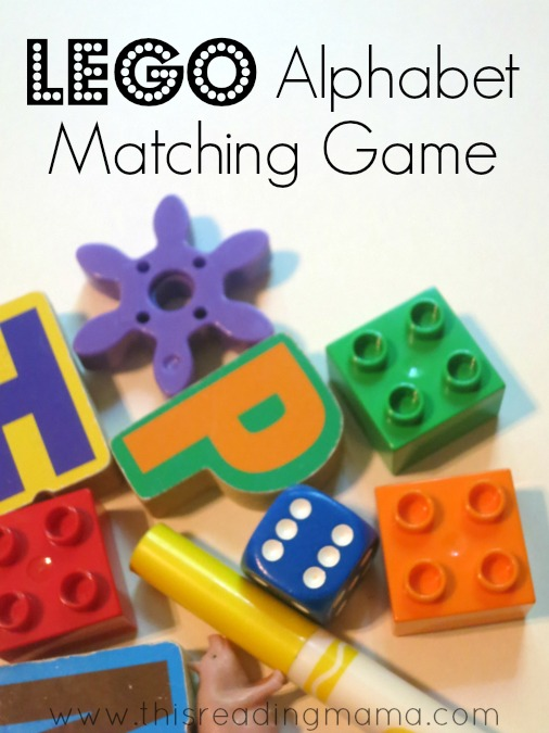 LEGO Alphabet Matching Game - This Reading Mama