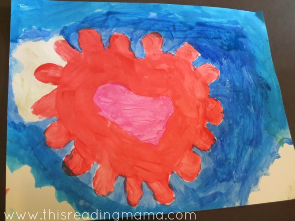 paint a picture during read aloud time