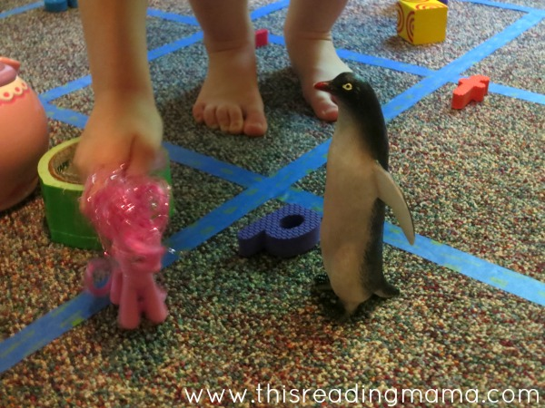 playing with beginning letter sounds