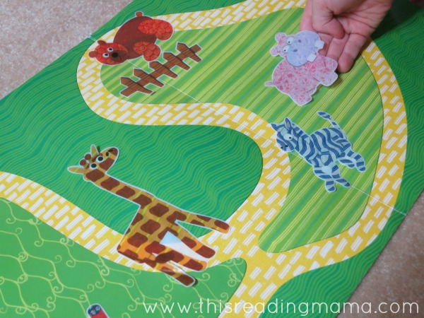 reusable sticker play during read aloud time
