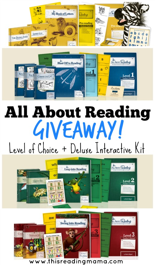 All About Reading Giveaway with This Reading Mama