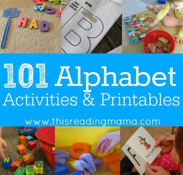 101 Alphabet Activities and Printables 2 - This Reading Mama