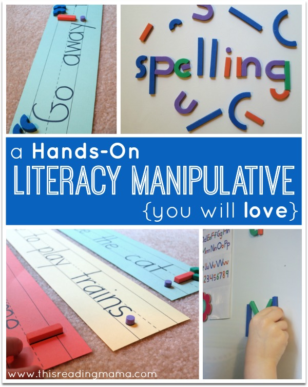 A Hands-On Literacy Manipulative You will LOVE