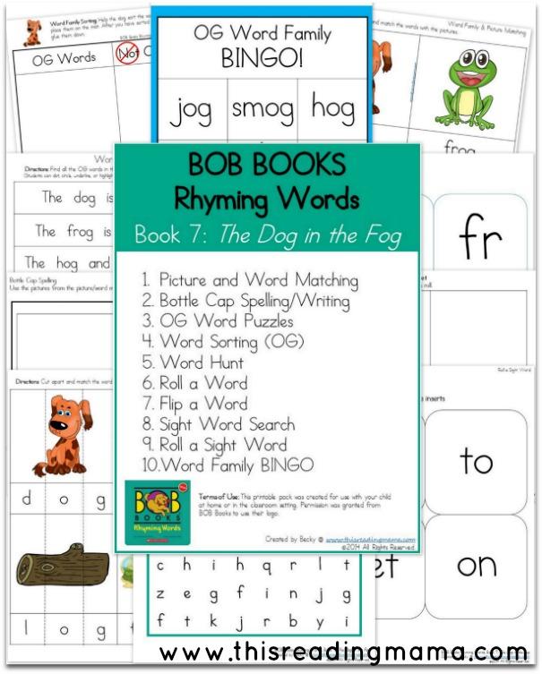 BOB Books -Rhyming Words -Book 7