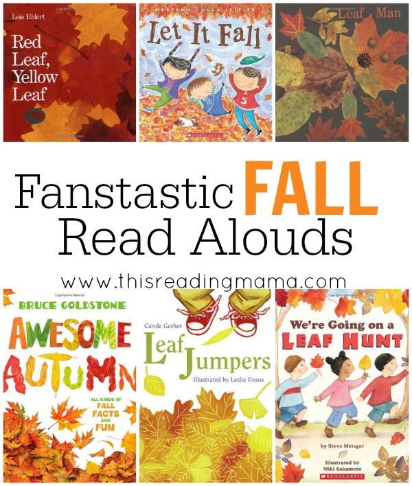 6 Fantastic Fall Read Alouds