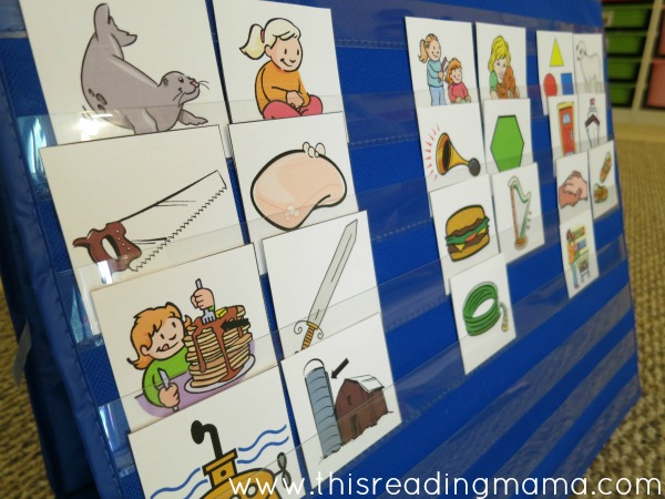 sorting pictures by s, h, and sh digraph