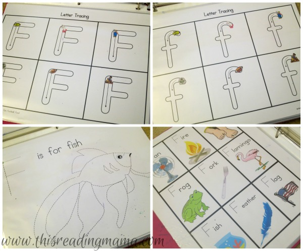 handwriting pages for a preschooler