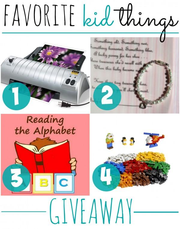 Favorite-Kid-Things Giveaways