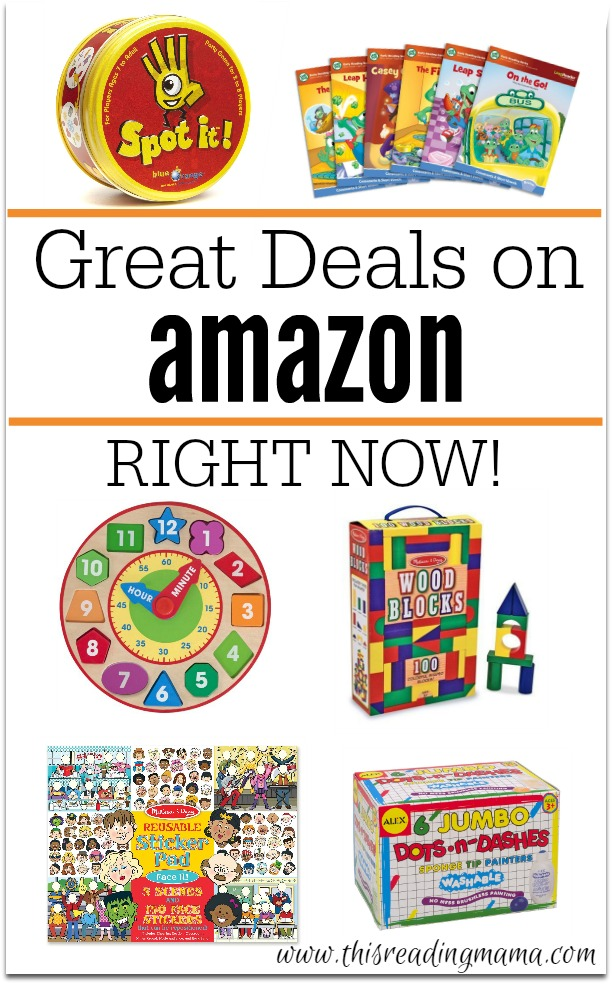 Great Deals on Amazon Right Now - This Reading Mama