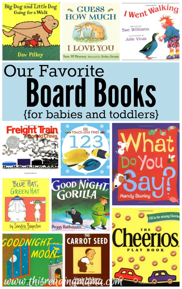 Our Favorite Board Books for Babies and Toddlers - This Reading Mama