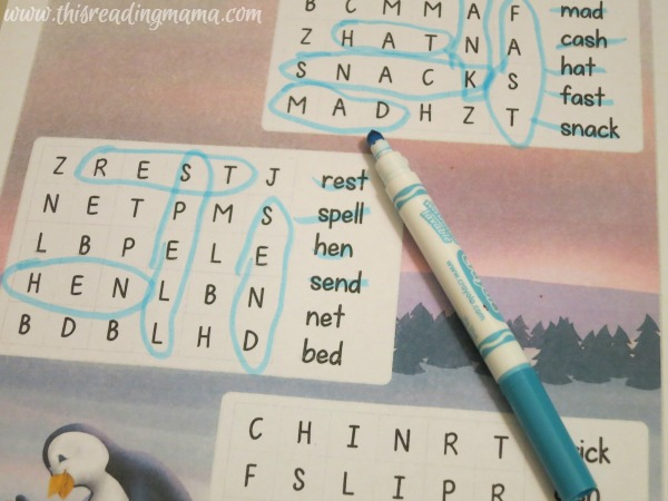 penguin word search