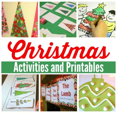 Christmas Activities and Printables 2- This Reading Mama