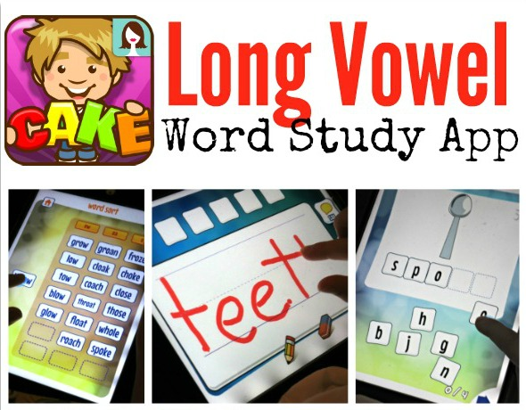 Long Vowel Word Study App