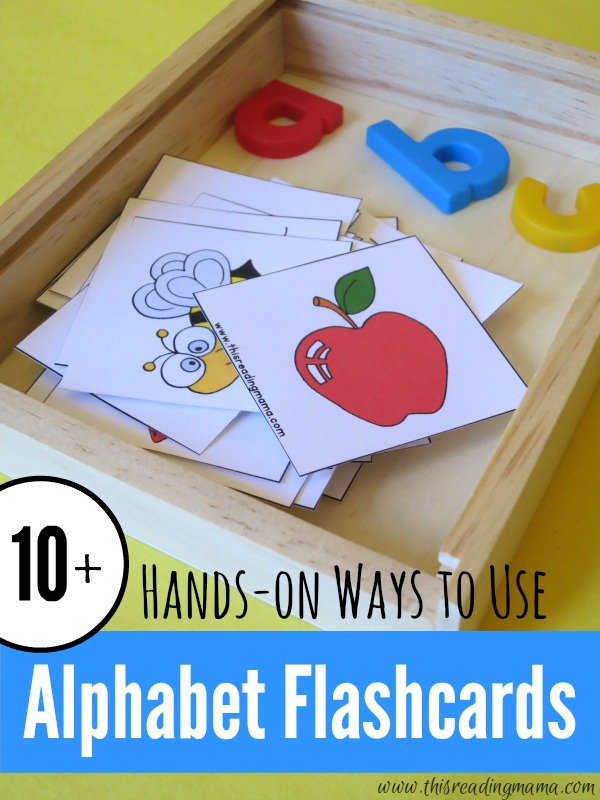 10 Ways To Use Alphabet Flashcards