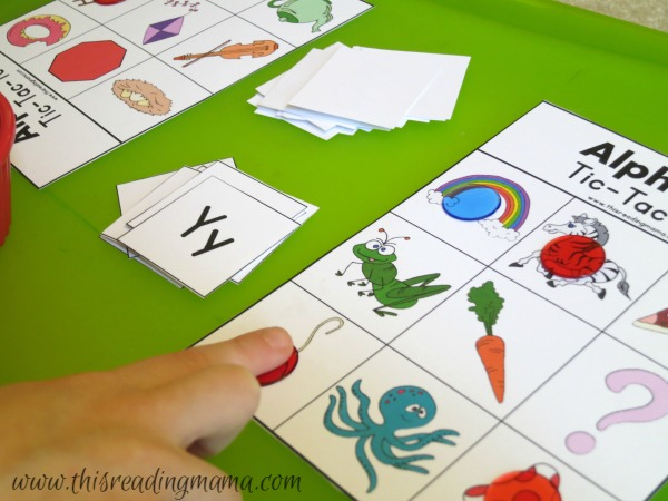 Alphabet Sound Tic-Tac-Toe Game