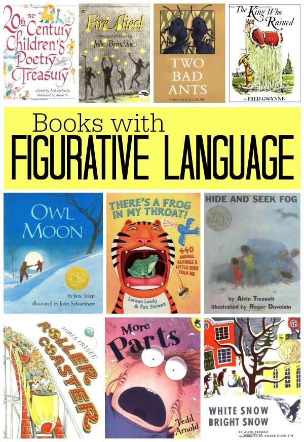 Figurative Language Foldable Book by Jessi Olmsted | TpT