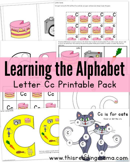 photo about Printable Abc Letters identified as Totally free ABC Printable Packs Studying the Alphabet