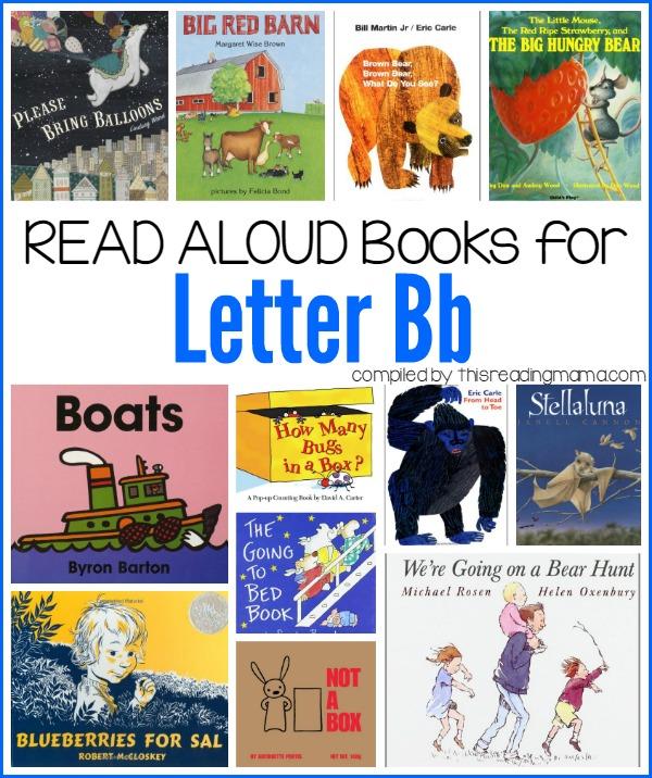 Letter B Books   Book List