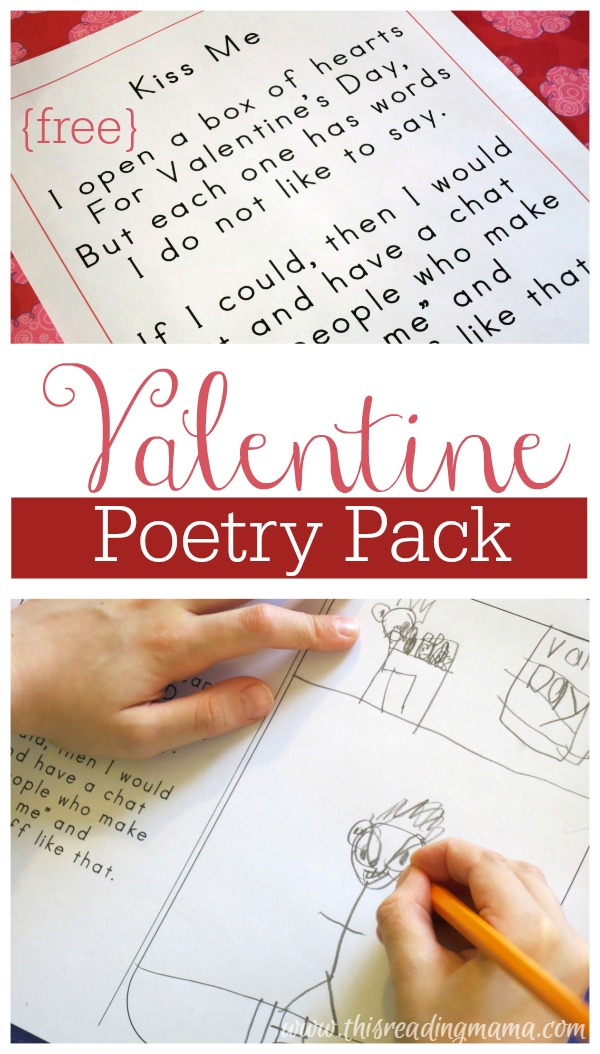 Valentine Poetry Pack {FREE} - This Reading Mama