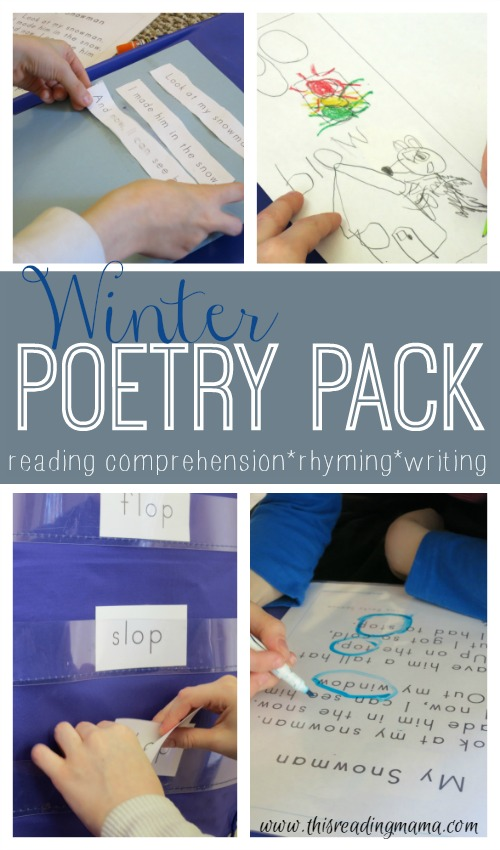 Winter Poetry Pack {FREE} - This Reading Mama