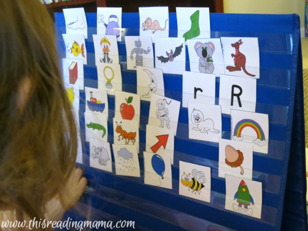 alphabet picture cards from Learning the Alphabet