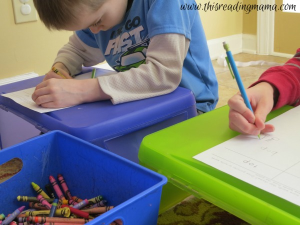 drawing and writing rhyming words