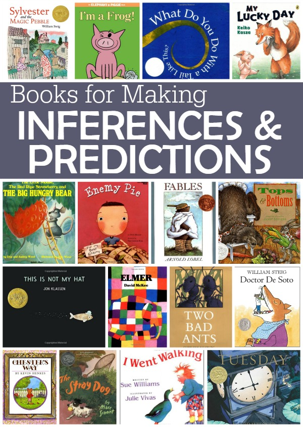Book List for Making Inferences and Predictions - This Reading Mama