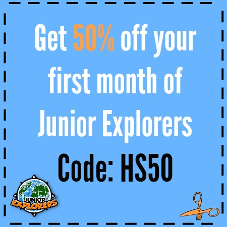 Discount Code for Jr. Explorers