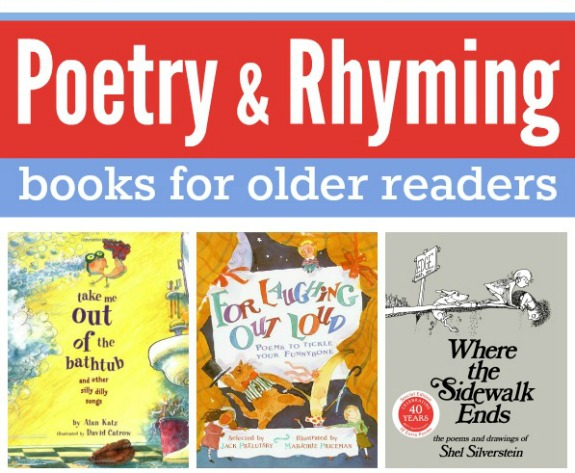 Poetry and Rhyming Books for Older Readers
