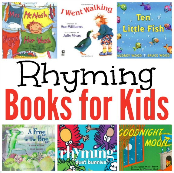 Rhyming Books for Kids - complied by This Reading Mama