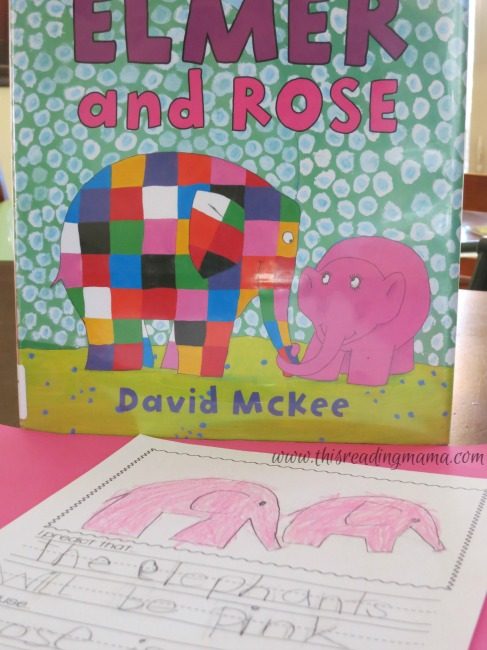 making predictions with Elmer and Rose