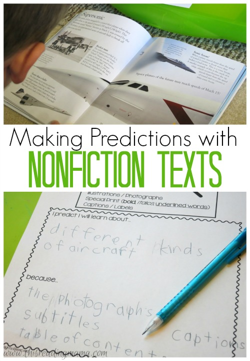 Language At 3 Predicts 3rd Grade >> 3 Activities For Making Predictions
