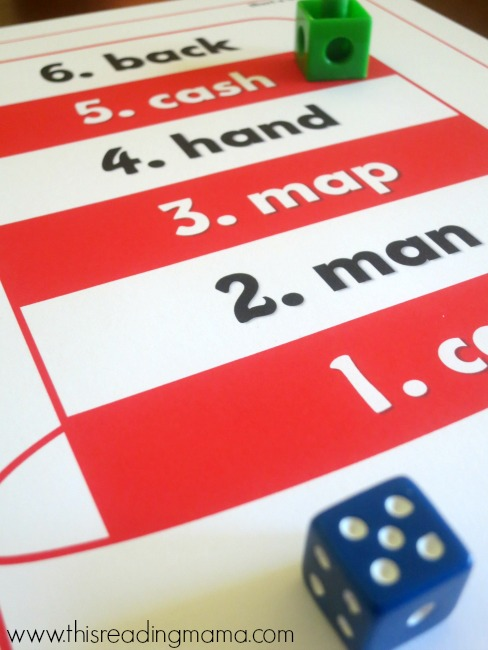 roll and place marker on game board