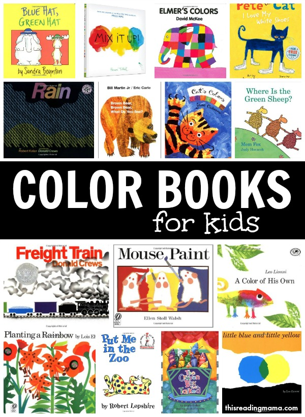 Color Books for Kids ~ Learning About Colors