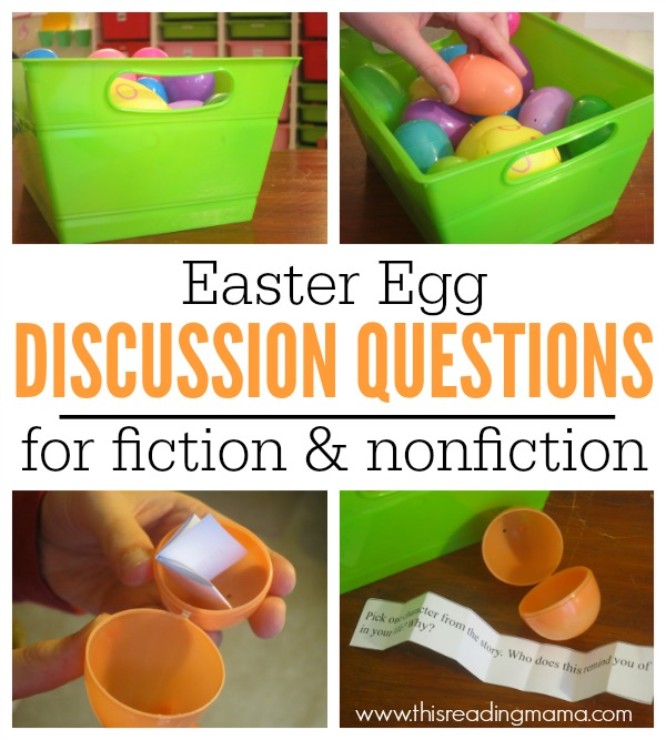 FREE Easter Egg Discussion Questions for fiction and nonfiction