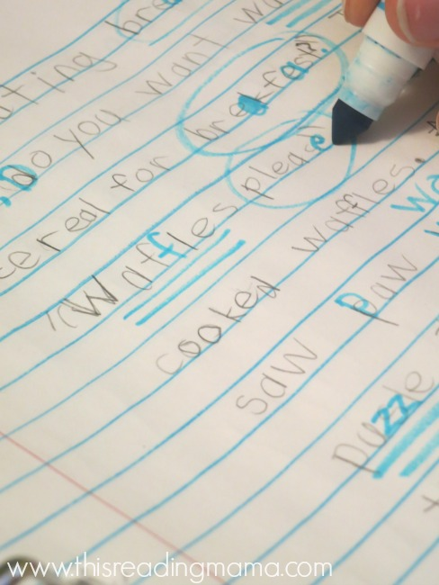 editing draft before publishing