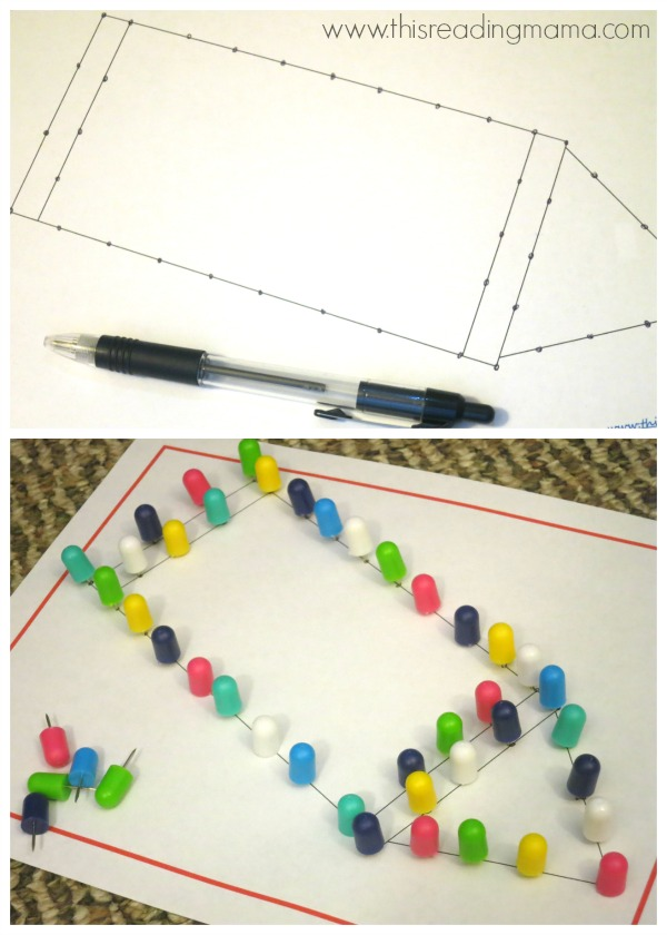 poke page - great for fine motor skills