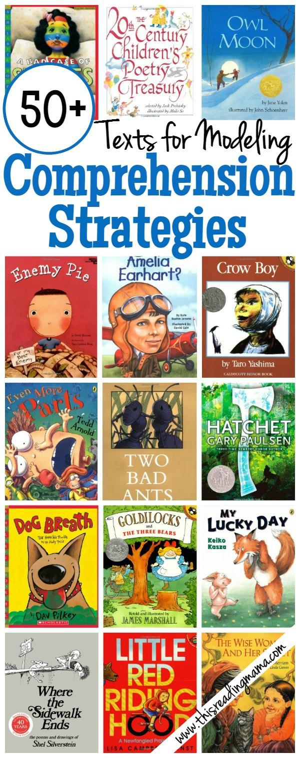 - 50+ Books For Modeling Comprehension Strategies