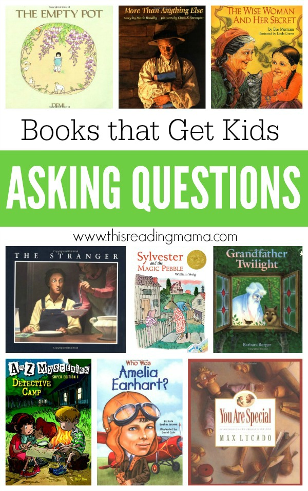 Book List for Asking Questions - This Reading Mama