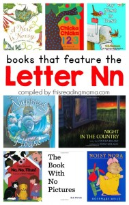Book List for the Letter N - Books that Feature the Letter N - This Reading Mama