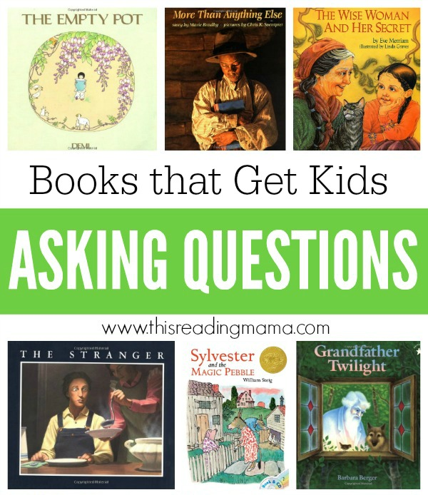 Books that Get Kids Asking Questions - This Reading Mama