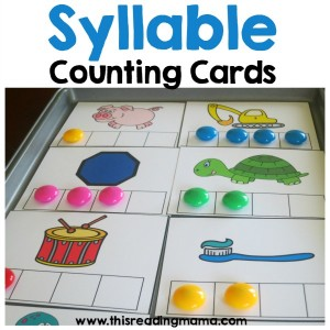 picture about Syllable Games Printable identify Print and Perform Syllable Video games - This Examining Mama