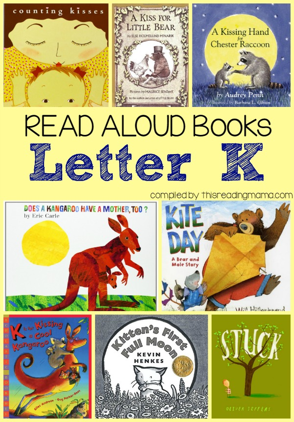 Read Alouds- Letter K Book List