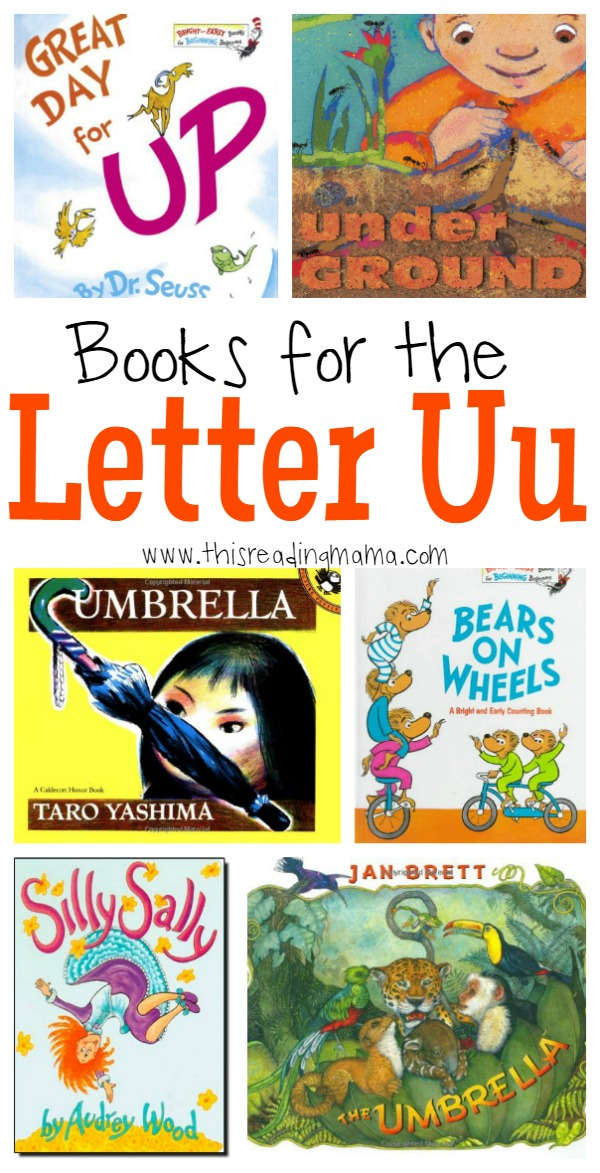 Books for the Letter U