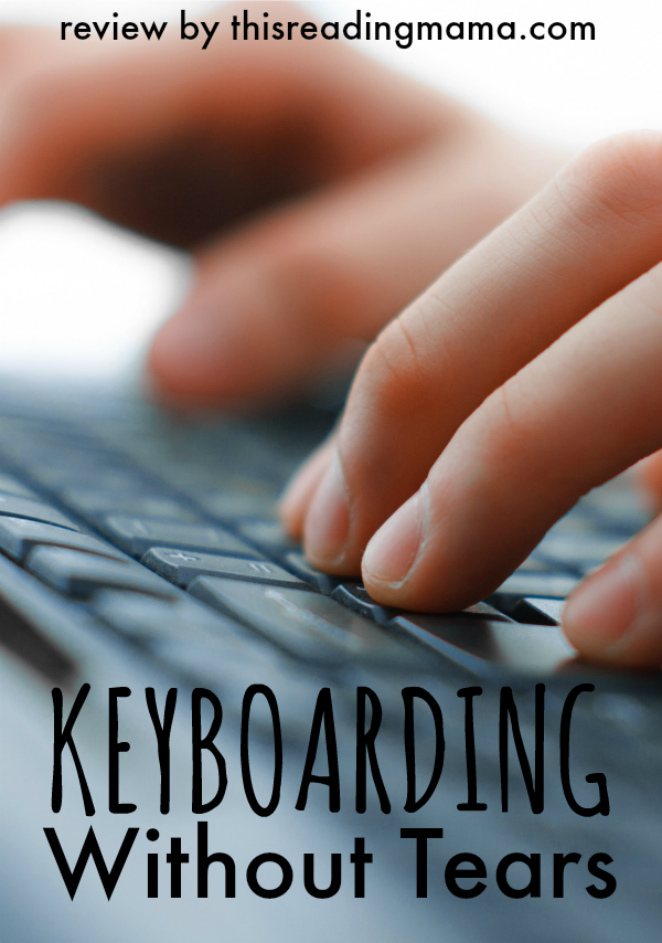 Keyboarding Without Tears Review from This Reading Mama